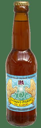 Bouteille de bière La Saint Pierre IPA Blanche