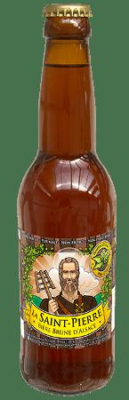 Bouteille de bière La Saint Pierre Brune