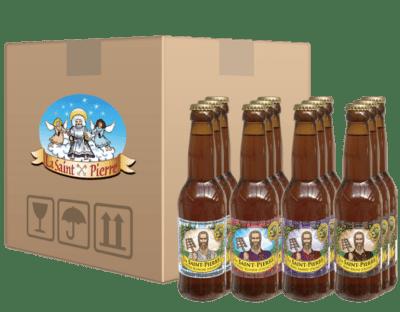 Pack Classique de la bière La Saint Pierre